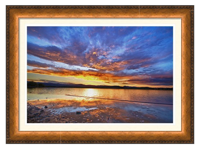 Peaceful Reflections Framed Art Prints